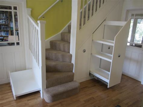 Stair Storage Closet by Captivating Stairs Storage Cheap And Stairs