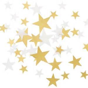 Decorative String Lights Gold Amp Cream Star Scatter Confetti Pipii