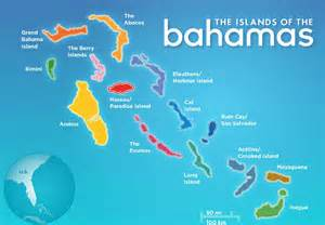 bahamas islands mapa