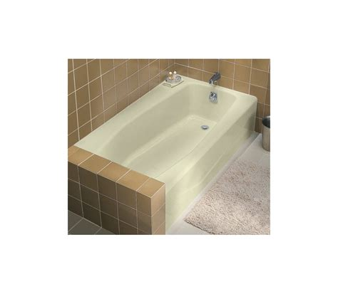 kohler bathtubs sale faucet com k 715 47 in almond by kohler
