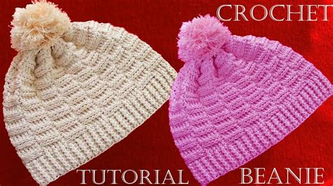 videos de como hacer gorros en crochet como hacer gorros a crochet crochet beanie tutorial my