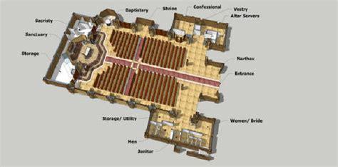 roman catholic church floor plan church floor plans