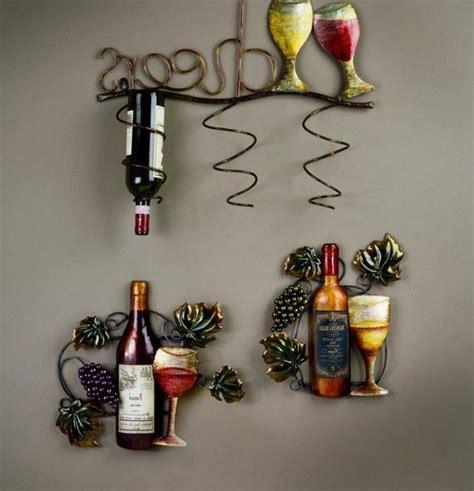 wine bottle themed kitchen decor 20 awesome kitchen decor ideas for your home