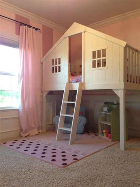 tree house bed baby girls room loft tree house bed i would ve killed