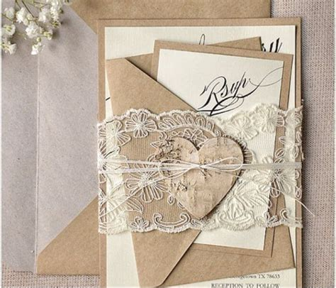 10 wonderful diy wedding invitations kits diy experience