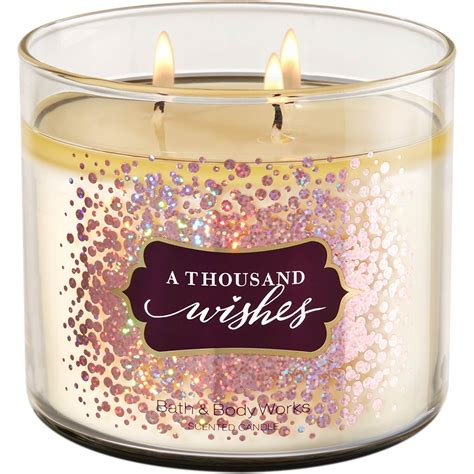 A Thousand Wishes bath works a thousand wishes 3 wick candle home