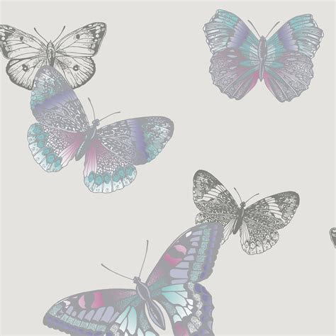 glitter vintage wallpaper arthouse vintage mariana lavender butterflies glitter