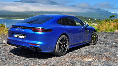 A Porsche Panamera by 2018 Porsche Panamera Turbo S E Hybrid First Drive Review