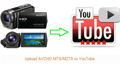 format video mts sony upload avchd mts m2ts to youtube