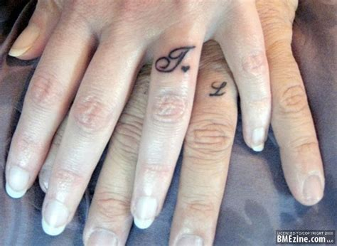 couple finger tattoo 42 lovely finger tattoos for couples