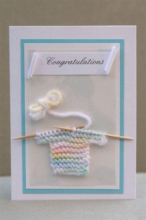 Handmade Congratulations Card Ideas - 25 best ideas about baby cards on handmade