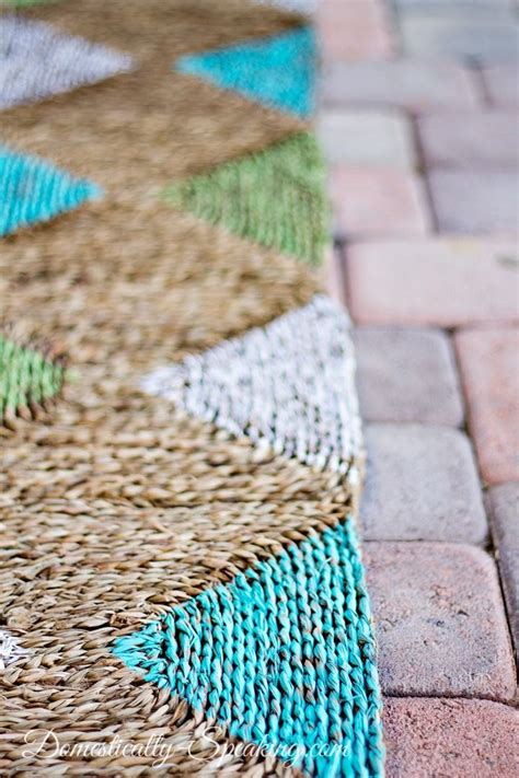 Diy Outdoor Rug Painted Outdoor Rug And Home Depot Giveaway