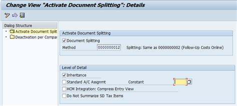 space for sap enthusiasts document splitting in sap space for sap enthusiasts