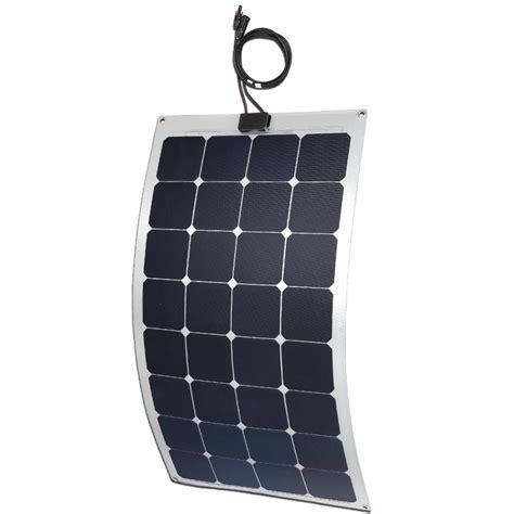 solarl fles flex 100w flexible solar panel aluminium backing
