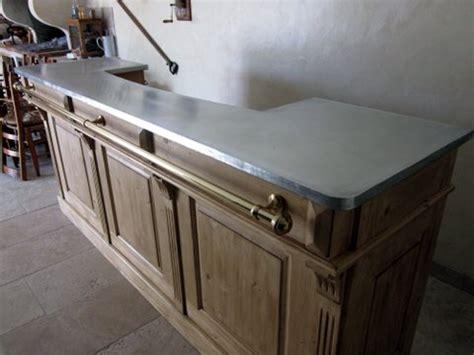 comptoir bar zinc occasion table de lit a roulettes