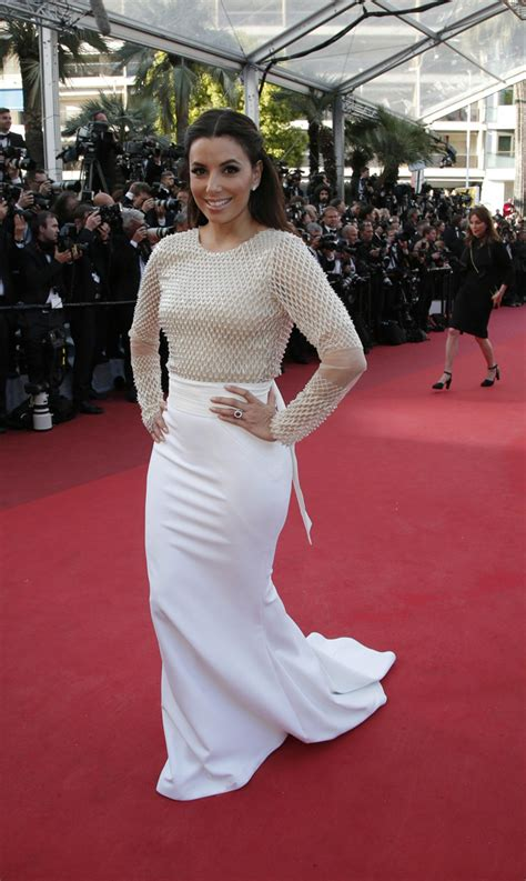 Lovely Longoria Baby Bump by Cannes Carpet 2016 Lively Finally Debuts