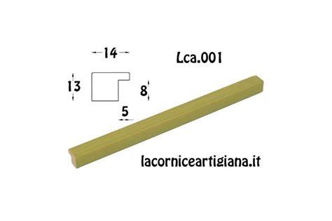 cornici 60x80 lca 001 cornice 60x80 piattina verde opaco con crilex la