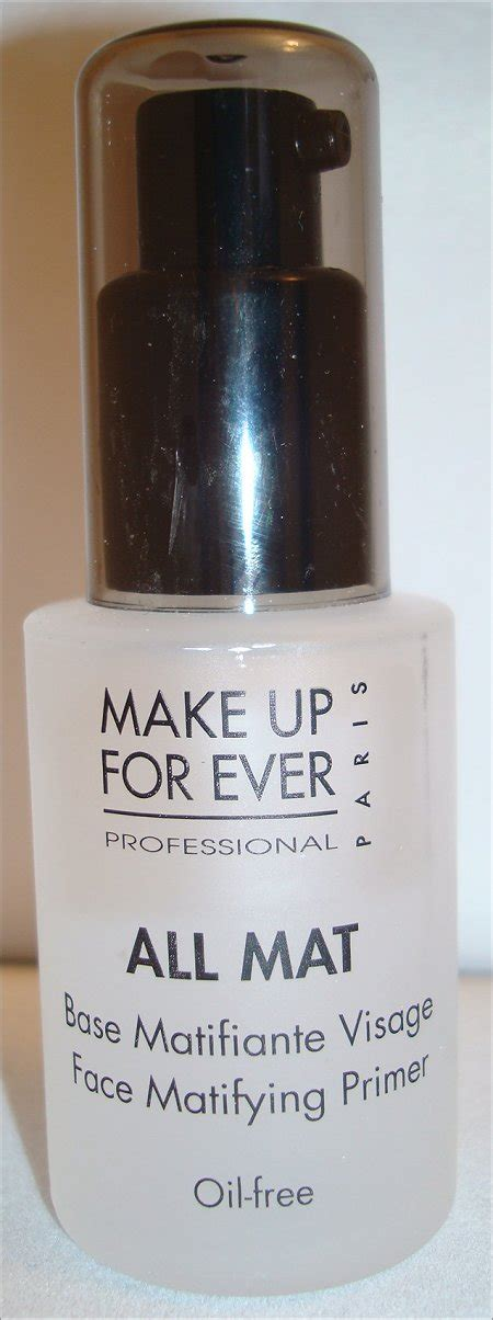 All Mat Makeup Forever make up for all mat matifying primer review
