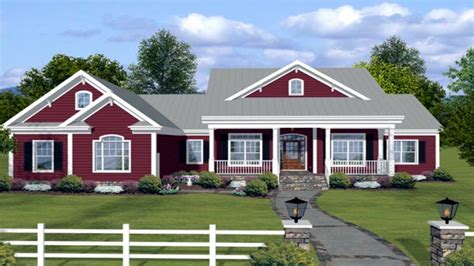 Ranch Farmhouse Plans country style dinner table ranch log house country