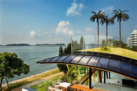 seafront home in singapore with underwater media room seafront home in singapore with underwater media room