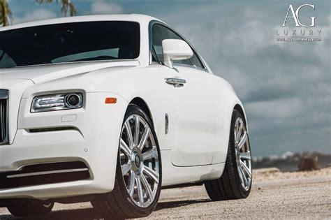 roll royce wraith on rims ag luxury wheels rolls royce wraith forged wheels
