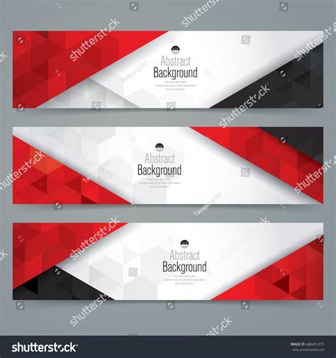 banner shutterstock white red black abstract background banner stock vector