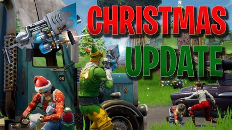 christmas update  patch notes fortnite battle