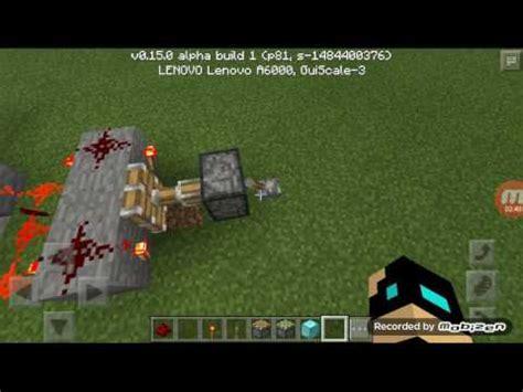 membuat robot minecraft minecraft pe cara membuat robot dari piston v0 15 0