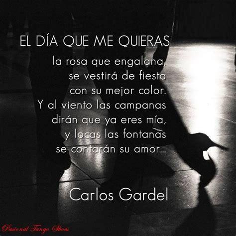 el dia que los 17 best images about tango buenos aires carlos gardel on instrumental