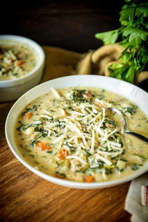 cooker copycat olive garden chicken gnocchi soup allfreeslowcookerrecipes