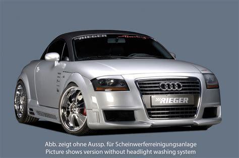 Rieger Audi by Rieger Abs Fits Audi Tt R Frame Front Bumper 55108 Ebay