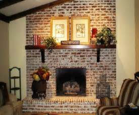 kamin gemauert white wash brick fix my room series how to freshen up a