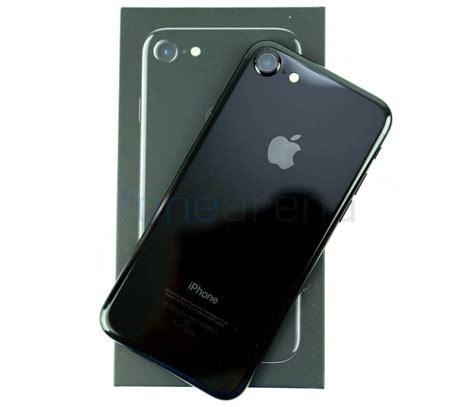 apple iphone  jet black unboxing