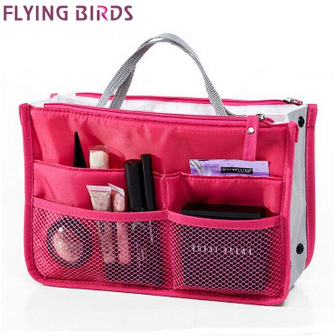 New Travel Toiletries Bag Tas Traveling flying birds 2015 multifunction makeup organizer bag cosmetic bags toiletry kits outdoor