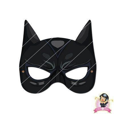 Printable Catwoman Mask | childrens printable catwoman mask simply party supplies