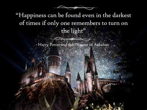 harry potter light times a hogwarts express through the memory the top quotes