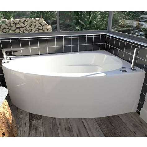 wind corner soaking tub wi60 by neptune yliving