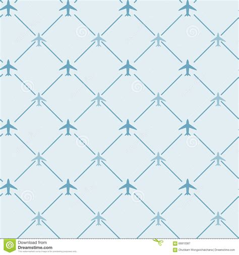 pattern plane video seamless background pattern with airplane routes cartoon