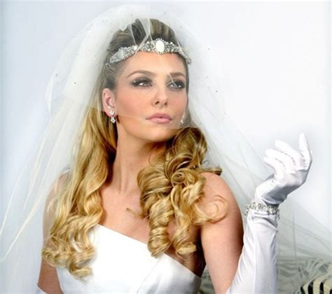 Wedding Hairstyles For Thin Hair With Veil by Half Up Half Wedding Hairstyles 2015 2016 How To