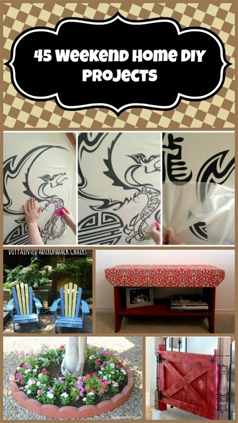 weekend diy home projects 45 weekend home diy projects budget earth