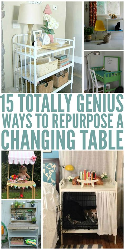 repurposed changing table 15 genius ways to repurpose changing tables
