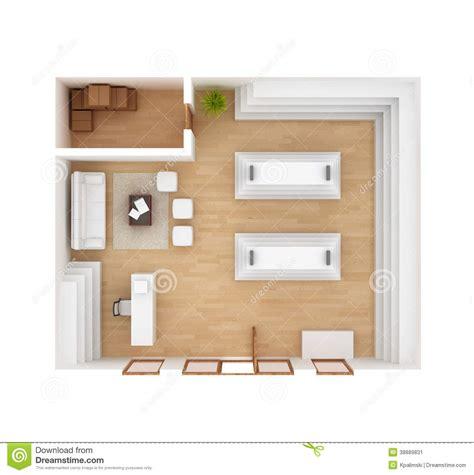 top view floor plan retail store interior floor plan stock illustration image 38889831
