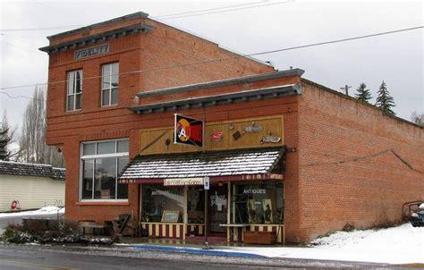 Uniontown Post Office by Uniontown Wa Uniontown Fidelity Building 3 5 09 Photo