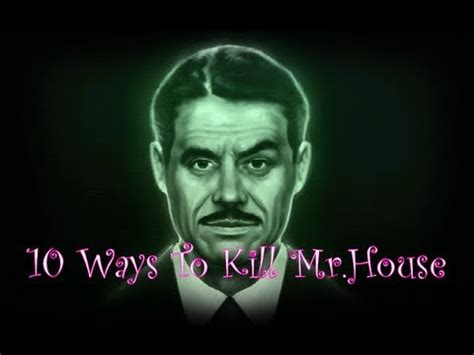 how to kill mr house 10 ways to kill mr house fallout new vegas youtube