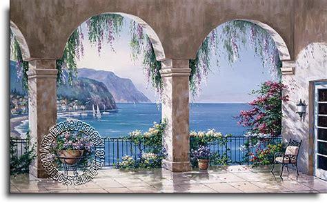Wall Murals Superstore Mediterranean Arch Wall Mural