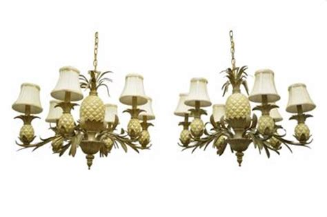 Quoizel Pineapple Chandelier Pair 2 Quoizel Lafayette Pineapple Gold Coast Bahama Collection Chandelier Ls Ebay