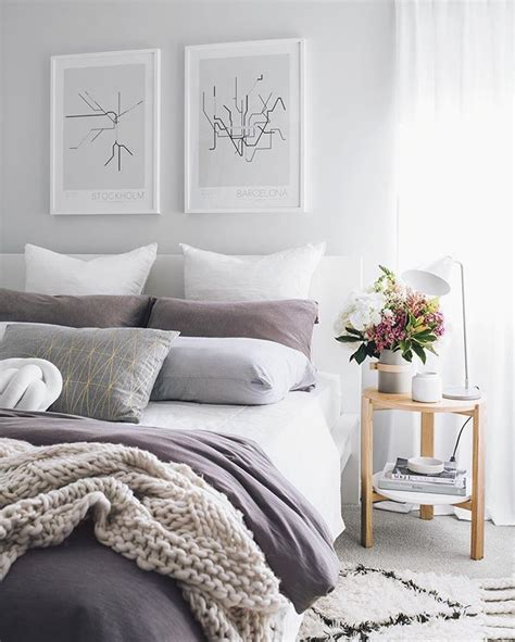 Purple Gray Bedroom by Best 25 Purple Gray Bedroom Ideas On Color