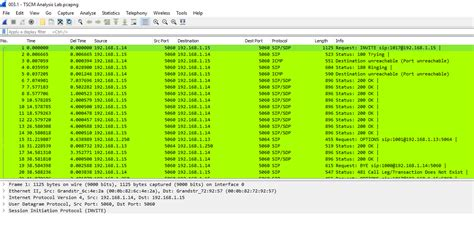 tutorial wireshark voip sip skinny research and development