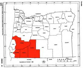 southern oregon map southern oregon the wiki