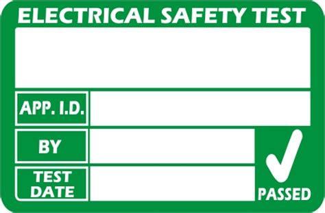 pat testing labels template march 2013 pat labels